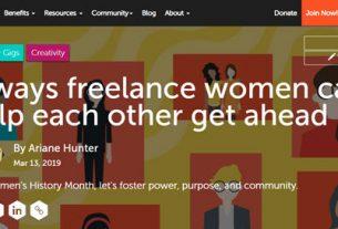 Freelancing Woman