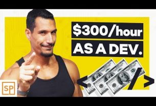 How YOU Can Charge $300 AN HOUR As A Freelance Developer