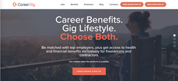 CareerGig Offers Freelancers Health Insurance and Benefits